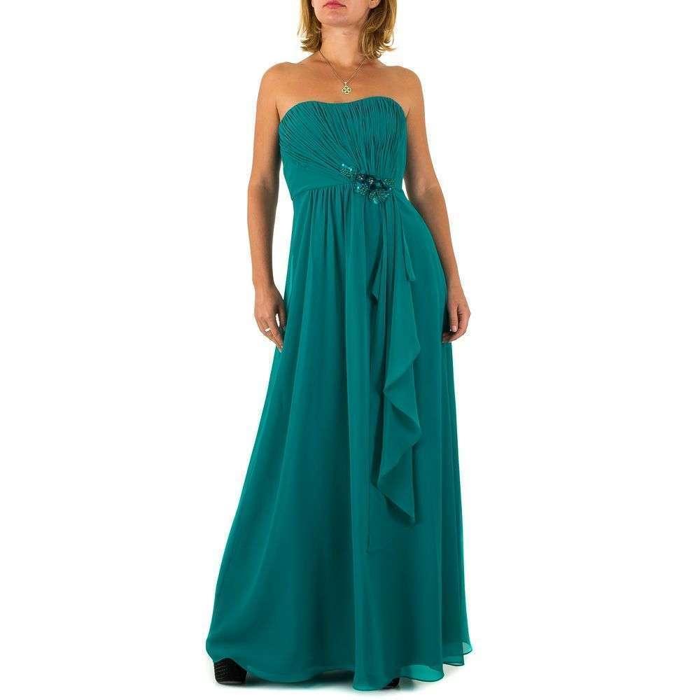 Женское платье от Vera Mont - petrol - Мкл-VM4591-petrol