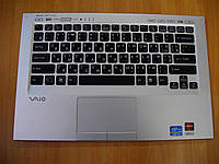 Клавиатура с верхней частью корпуса Sony PCG-41218L VPCSC41FM C60A21HX  бу , фото 1