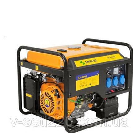 Бензиновый генератор SADKO GPS-6500 Е+масло в подарок