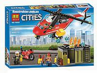 """Конструктор Bela 10829 """"Пожарная команда быстрого реагирования"""" 274 деталей. Аналог LEGO City 60108, фото 1"""