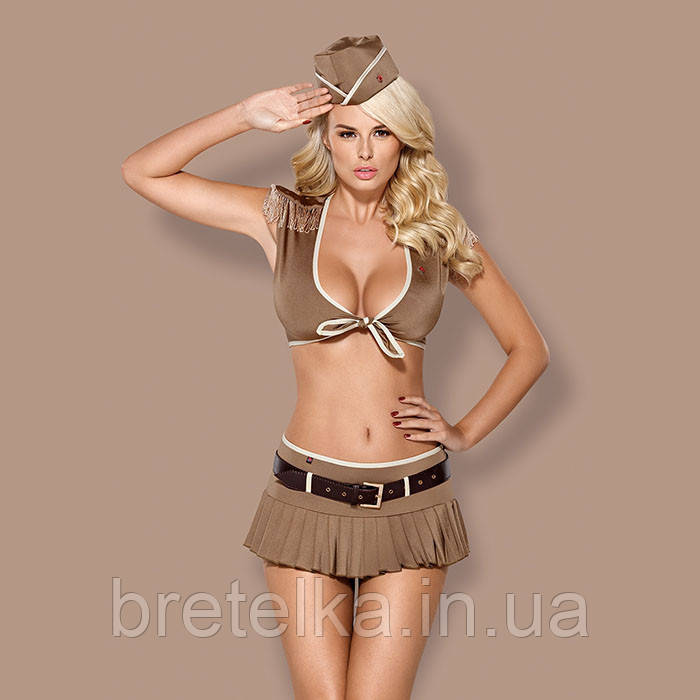 Ролевой костюм Военная Obsessive 814 Польша
