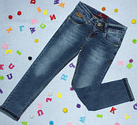 Модные детские джинсы  классика на мальчика   р. 5-10 лет