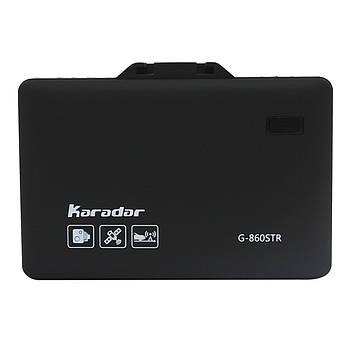 """Антирадар Karadar G-860STR 2.4"""" дисплей радар-детектор с GPS голосовыми оповещениями обнаружение сигналов"""