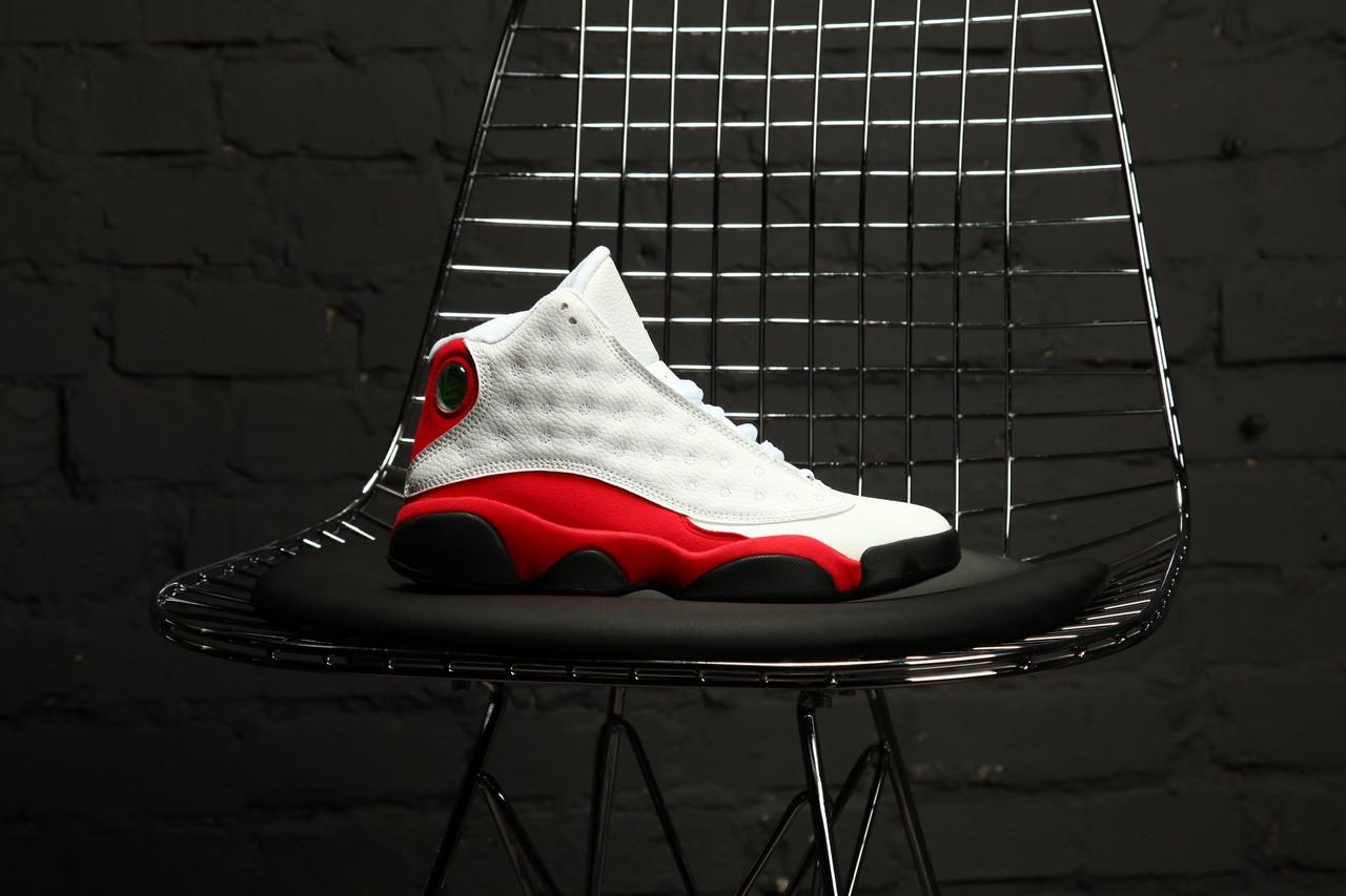 Мужские кроссовки Nike Air Jordan 13 Retro Chicago White
