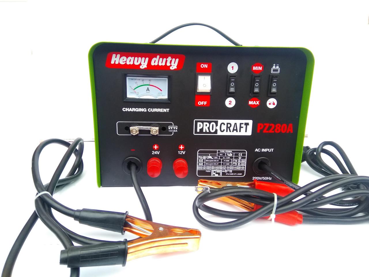 Пуско-зарядний пристрій ProCraft PZ280A