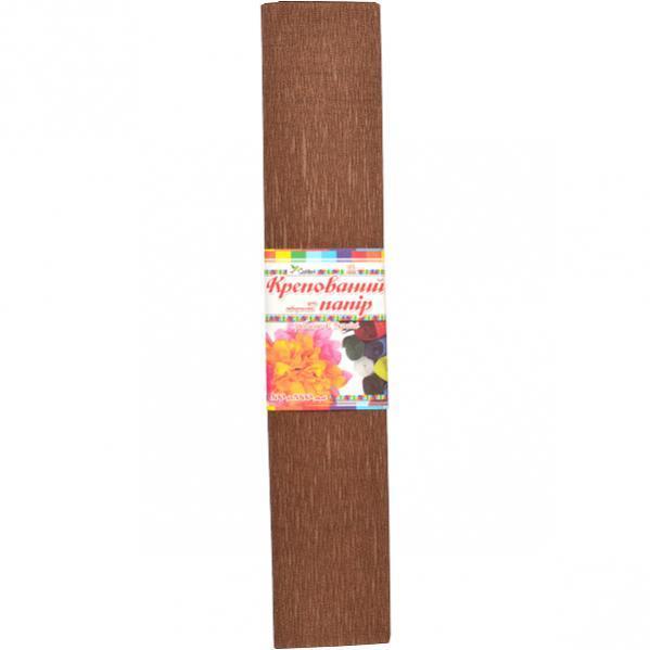 Гофрированная бумага темно-коричневая