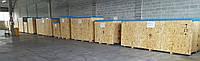 Б/у линия наполнения и упаковки пластиковых и стеклянных флаконов мощностью 2000-2500 флаконов/час.