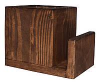 Деревянный лоток для столовых приборов  Pranzo  подставка под ложки вилки  цвет - капучино, фото 1
