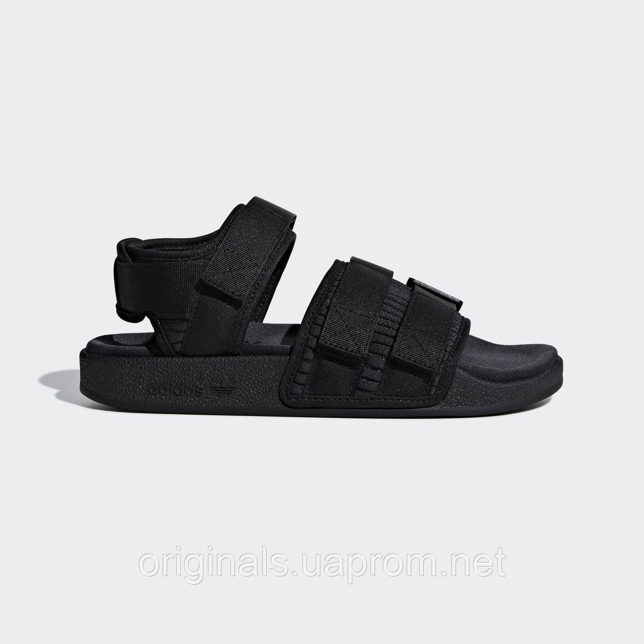 Черные сандалии Adidas Adilette 2.0 W CG6623 - 2019