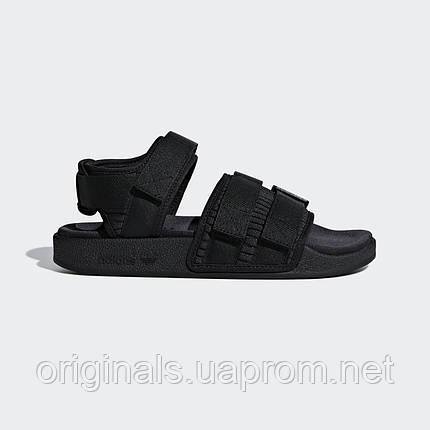 Черные сандалии Adidas Adilette 2.0 W CG6623 - 2019, фото 2