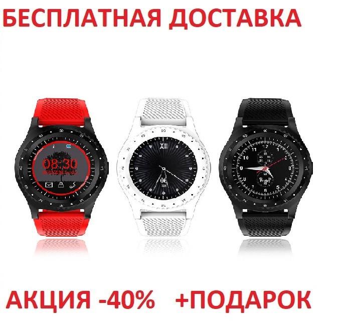 Смарт часы с Камера Bluetooth Smartwatch L9 смарт глянец часы  трекер Умные часы фитнес часы Original size