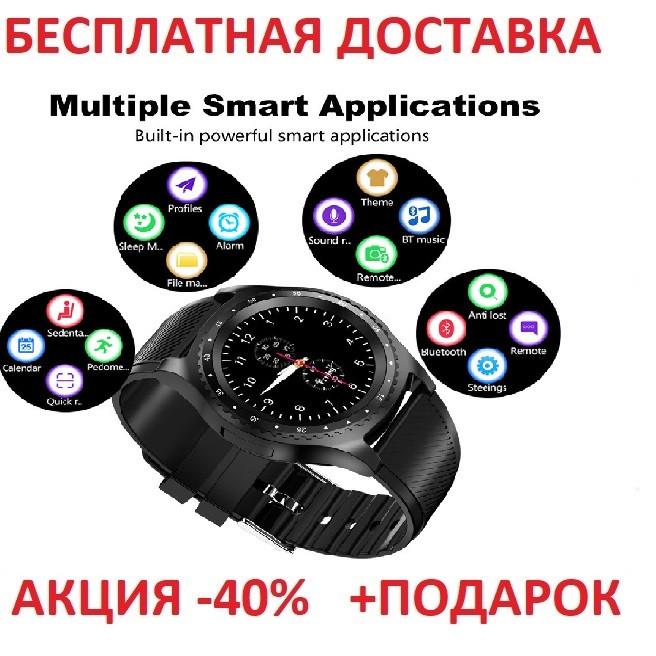 Смарт часы с Камера Bluetooth Smartwatch L9 смарт картон часы  трекер Умные часы фитнес часы Original size