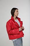 Женская демисезонная курточка на кнопках, фото 2