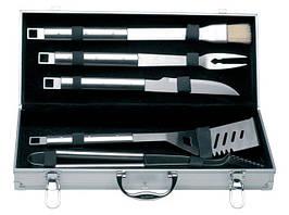 Набор для барбекю BERGHOFF Cubo 1108180 (6 предметов/ алюминиевый кейс)