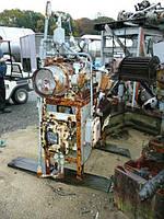 Б/у лабораторная вальцовая мельница с 2 валами. 50мм X 150мм