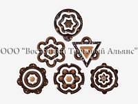 Формы для шоколада с переводным рисунком — 34374 Новогодние ассорти 2 Modecor