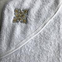 Крыжма на крещение . Размер 80x90 см