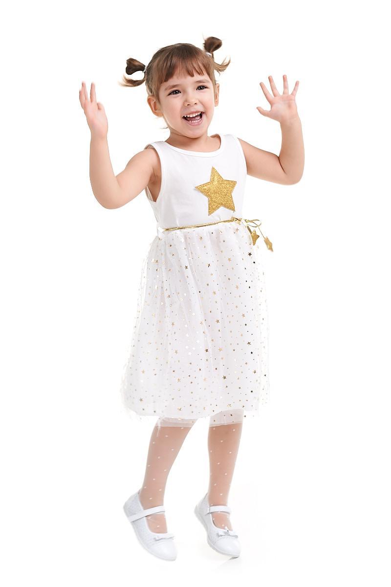 Платье Звездочка  100, 120, 130, 140, 150