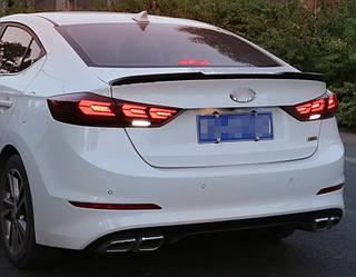 Диодные фонари Led оптика Hyundai Elantra AD 2016+