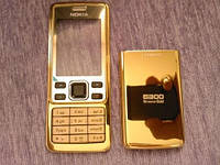 Nokia 6300 Корпус Sirocco Gold