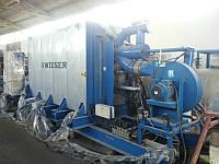 Б/у линия производства пенопласта от WIESER. мощность 400м3/день