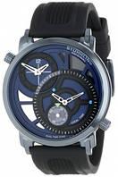 Мужские наручные часы Stuhrling Original Men's Symphony Eclipse Horizon Swiss Quartz Dual Time Blue Watch