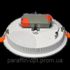 Світильник світлодіодний 24W 5200K (круглий), фото 2