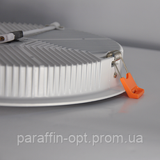 Світильник світлодіодний 24W 5200K (круглий), фото 3