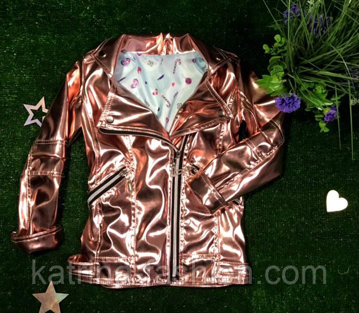 Куртка-косуха детская из эко-кожи