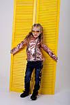 Куртка-косуха детская из эко-кожи, фото 4