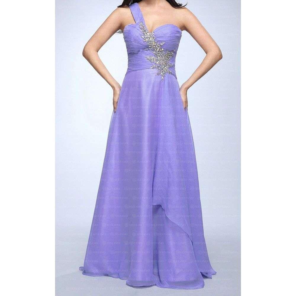 Женское платье от Festamo - violet - Мкл-F8212-violet