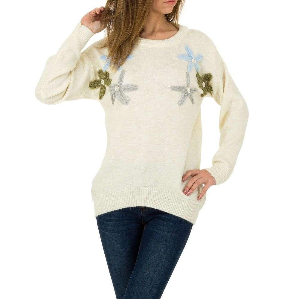 Женский свитер от Milas, размер One Size - white - KL-PU0083-07-white