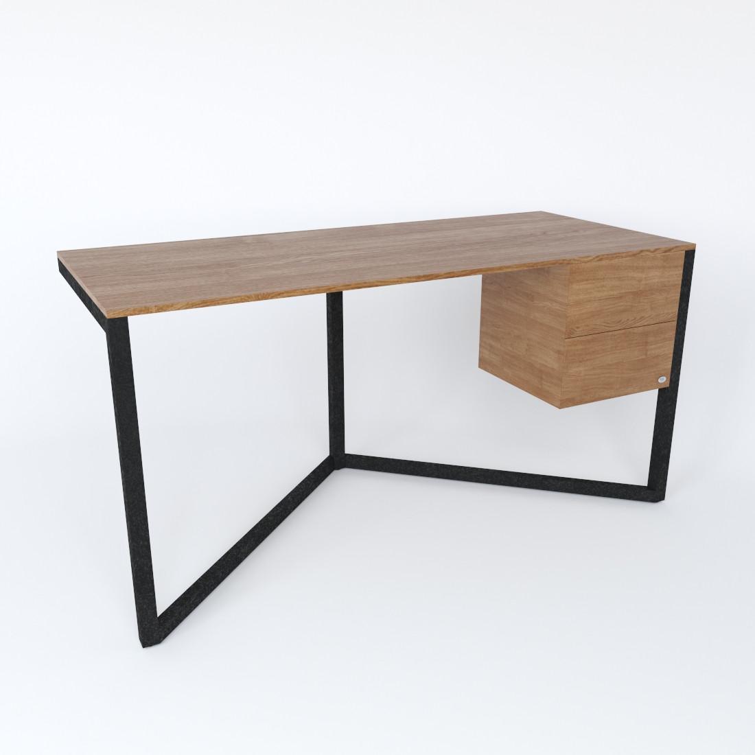 Дизайнерский письменный стол «Корабль» Black