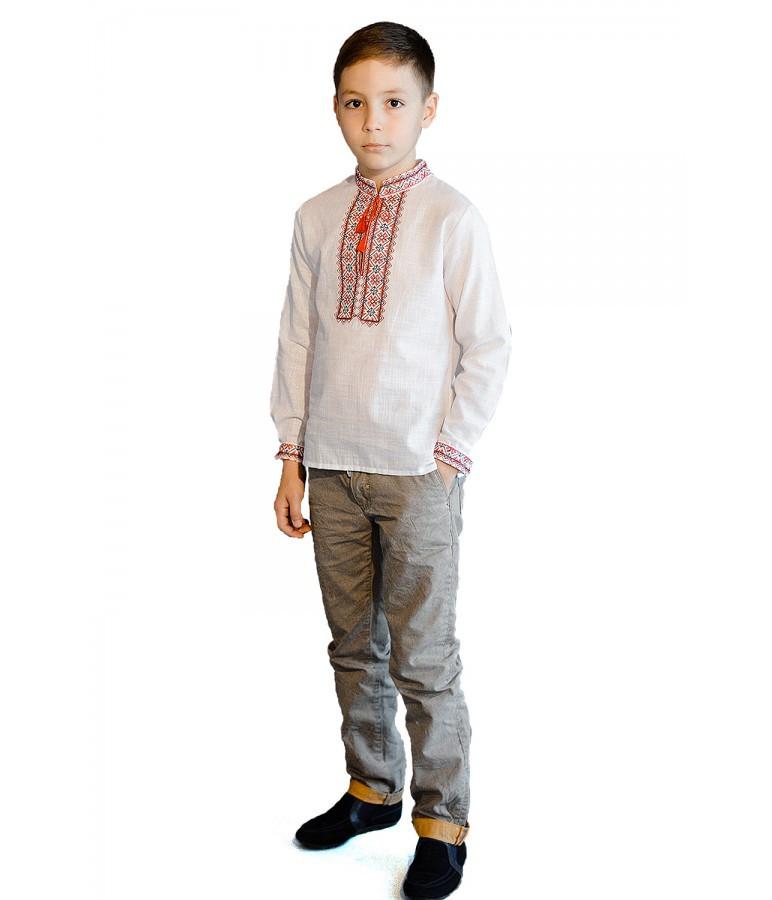 Вишиванка на хлопчика, розмір 116 - 158