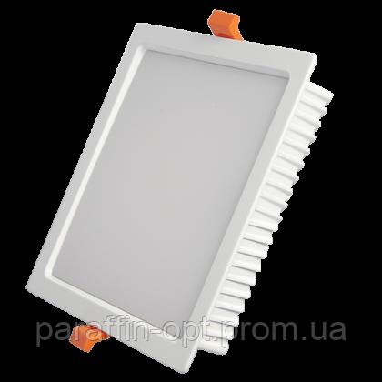 Світильник світлодіодний 24W 5200K (квадратний)