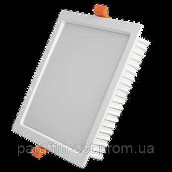 Світильник світлодіодний 24W 5200K (квадратний), фото 2