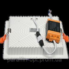 Світильник світлодіодний 24W 5200K (квадратний), фото 3