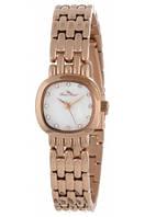 "Женские наручные часы Lucien Piccard Women's ""Teide"" Stainless Steel Rose Gold-Tone Watch"