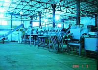 Б/у комплекс вторичной переработки ПЭТ тары и пленки. Мощность 500кг по таре и 1000 кг по пленке.