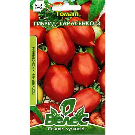 """Семена томата среднеспелого, высокорослого, урожайного """"Гибрид Тарасенко 3"""" (0,15 г) от ТМ """"Велес"""", фото 2"""