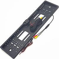 Камера заднего вида в автомобильной рамке номера с 20 LED подсветкой H88
