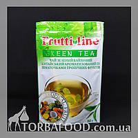 """Чай зеленый Frutti Line """"Тропический фрукт"""" 80g, фото 1"""