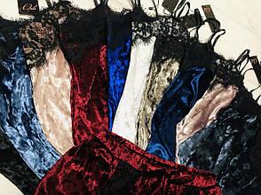 Мраморная велюровая пижама TM Orli, фото 2