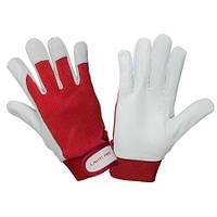 Защитные перчатки кожаные, LahtiPro 2702