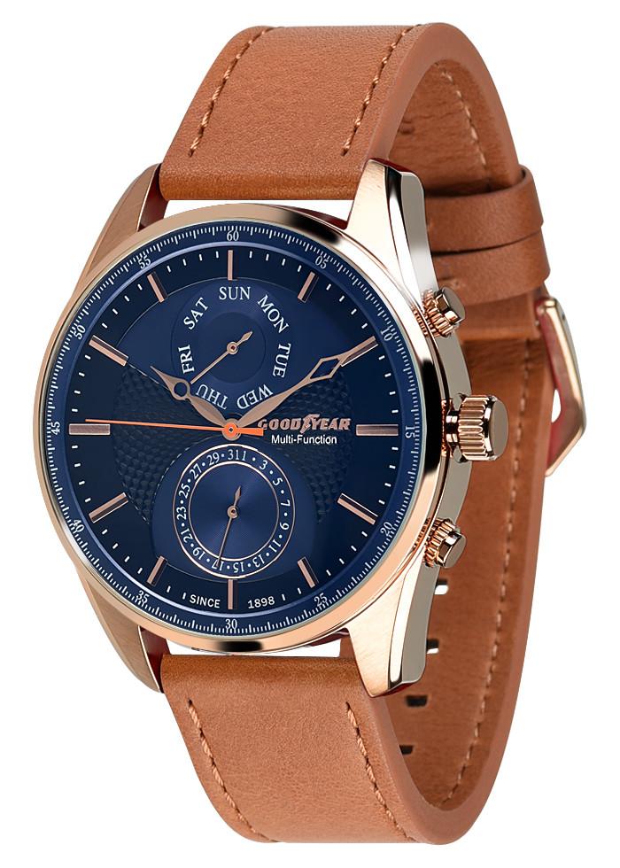 Чоловічі наручні годинники Goodyear G. S01213.01.05
