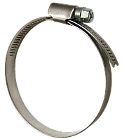 Хомут затяжной (червячный) W2 Ø16-25мм нержавеющая сталь А2