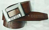 Ремень мужской кожаный Diesel 40 мм., реплика 930846