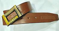 Ремень мужской кожаный Diesel 40 мм., реплика 930844