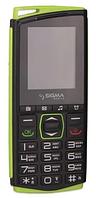Мобильный телефон Sigma Comfort 50 mini4 AGIZL Black-Green Гарантия 12 месяцев