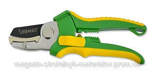 Секатор 175 мм металлическая наковальня срез прямой диаметр среза 13 мм VERANO 71-812